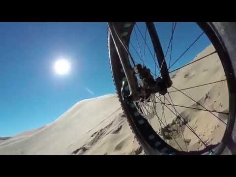 Fatbike Session in Socal on the Fatback Corvus with Pat Smage