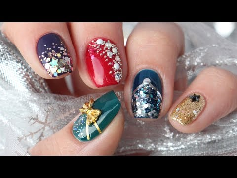 5 New Year's Eve Nail Art Design Ideas!