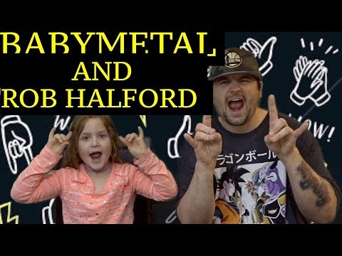 DAD AND DAUGHTERS REACTIONS TO BABYMETAL & ROB HALFORD ! THIS WAS EPIC !!!!