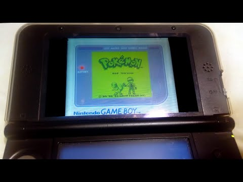 Play your 3ds Virtual Console games in 'Retro Mode!'