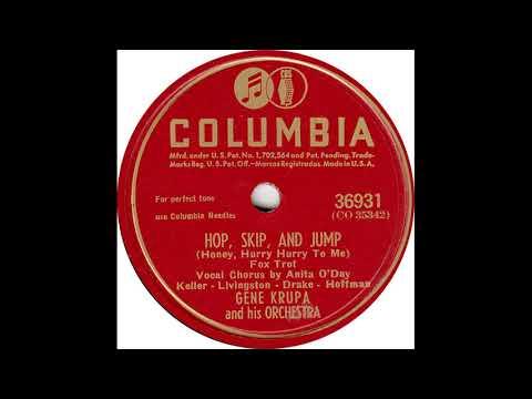 Anita O'Day & Gene Krupa & His Orch - Hop Skip And Jump(1945)