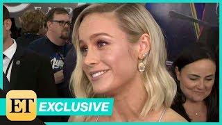 Avengers: Endgame Premiere: Brie Larson FULL INTERVIEW (Exclusive)