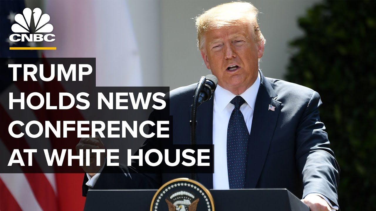 President Donald Trump holds news conference at the White House — 7/14/2020