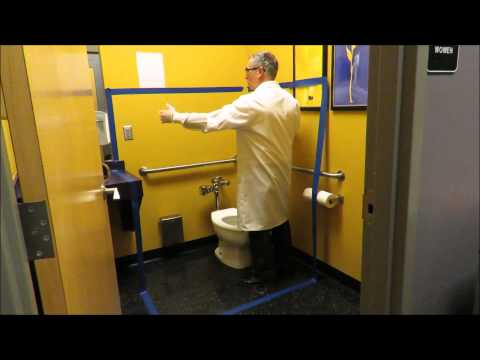 Are you cleaning restrooms the proper way! Let Professor Ford show you.