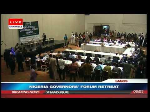 Nigeria Governors' Forum Retreat Prt1
