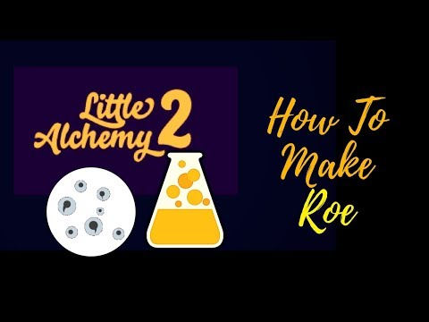 Little Alchemy 2-How To Make Roe Cheats & Hints