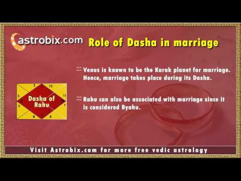 Timing the marriage for best results as per vedic astrology