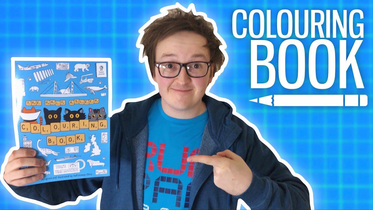 I Made a Colouring Book!