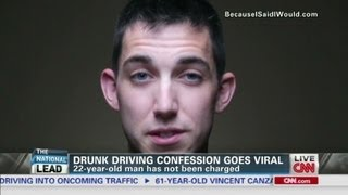 Drunk driving confession goes viral
