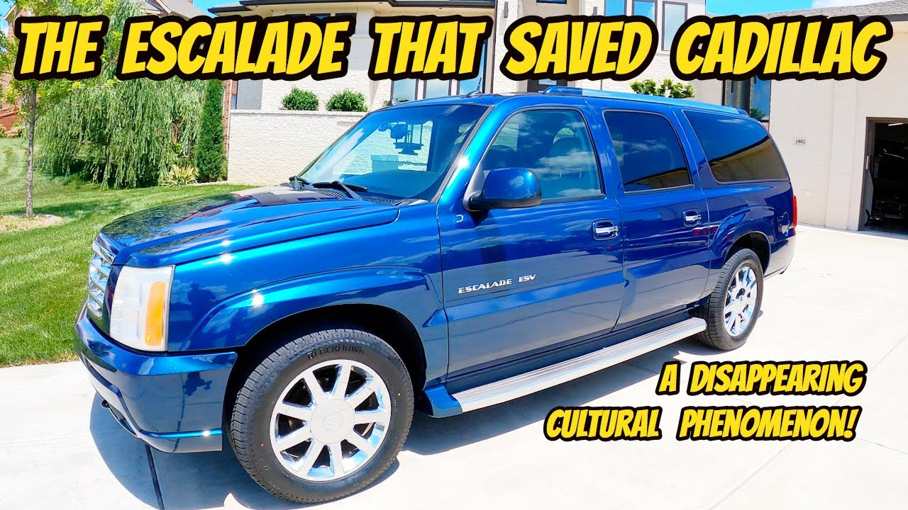The early Cadillac Escalade is a pop-culture icon, and I bought the best example ever.