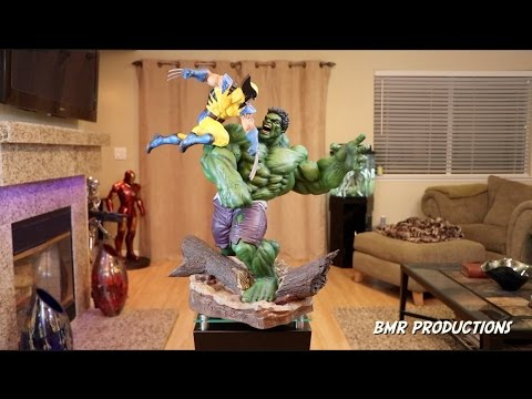 Sideshow Collectibles Hulk vs Wolverine Maquette Review