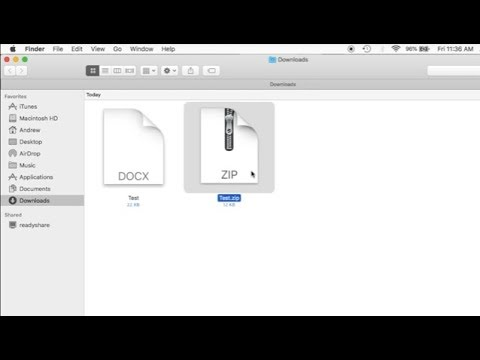 How To ZIP A File On a Mac