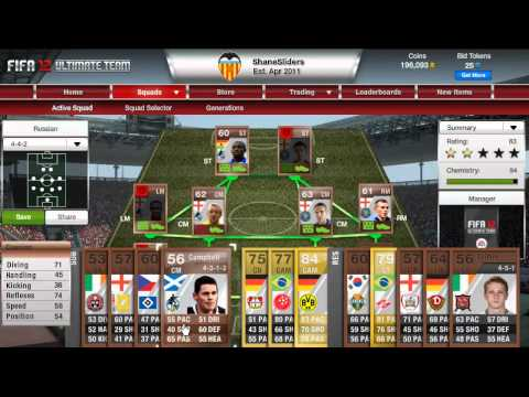 Fifa 12 - My Own Squad Review - Part 1