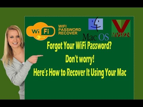How to find wifi password mac_How to (easily) recover a forgotten Wi-Fi Password - Mac OSX