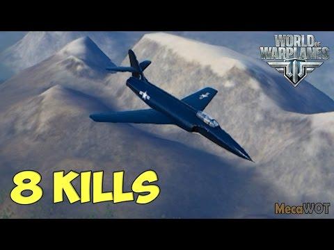 World of Warplanes | XP-90 | 8 KILLS  - Replay 1080p 60 fps