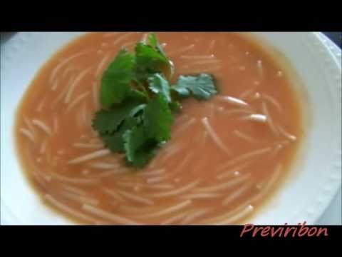 Sopa Aguada (sopa de fideo) * video 71 *