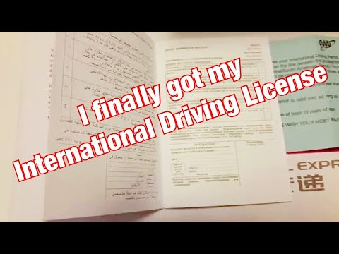 International Driving Permit / License (IDP)- Valid Over 150 Countries
