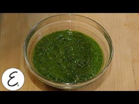 How to Make a Classic Chimichurri Sauce - Emeril Lagasse