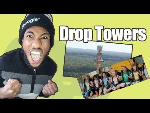 How Drop Towers Feel | Drop Tower Kings Island Story | POV