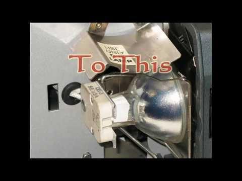 DJL Projector Lamp Module Kit replaces expensive DJL bulb & Lasts Longer