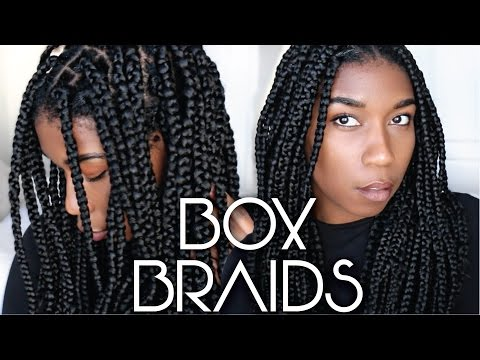How To Box Braids Protective Style | Easy Steps For Beginners