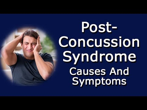 Post-Concussion Syndrome Causes And Symptoms
