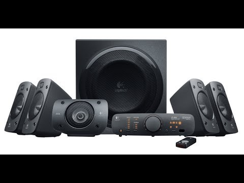 Logitech  5 1 Surround Sound Speaker System   THX, Dolby Digital and DTS Digital Certified