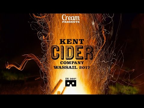 Kent Cider Company Wassail in VR 360 video
