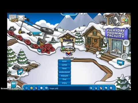 Club Penguin How to become a Tour Guide