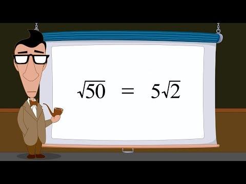 Pre-Algebra 31 - Simplifying Radical Expressions