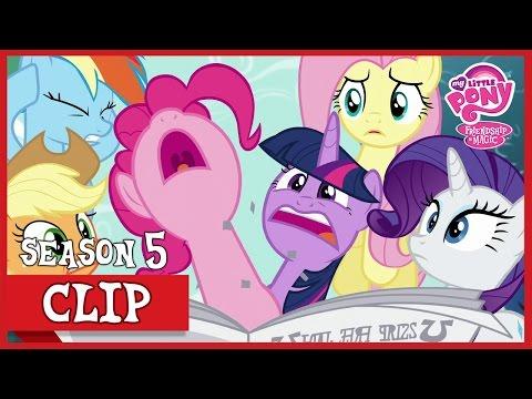 The Scavenger Hunt (The One Where Pinkie Pie Knows)   MLP: FiM [HD]