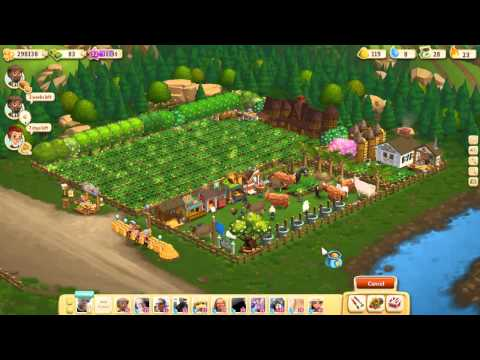 Farmville 2 Getting 10,000 XP in 3 Minutes