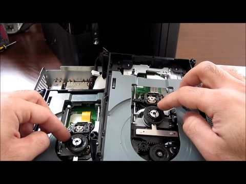 Xbox 360 repair disk drive Tray stack/Not Reading Disk- Advanced User