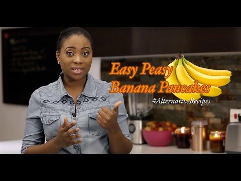 Banana Pancakes | Bukies Kitchen Muse