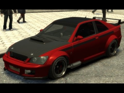 Sultan RS secret car GTA 4