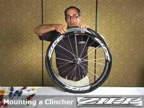 Zipp Mounting A Clincher Tire