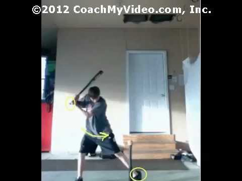 Cody's Lesson #1 - Baseball hitting video lesson from CoachMyVideo.com