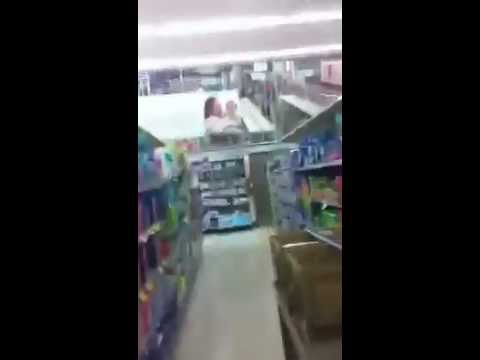 Lights going crazy in Walgreens!