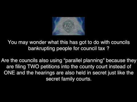 Council Tax Warning - Bankruptcy Petition Part 4