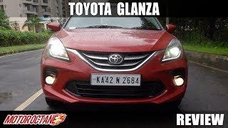 Toyota Glanza Review | Hindi | MotorOctane