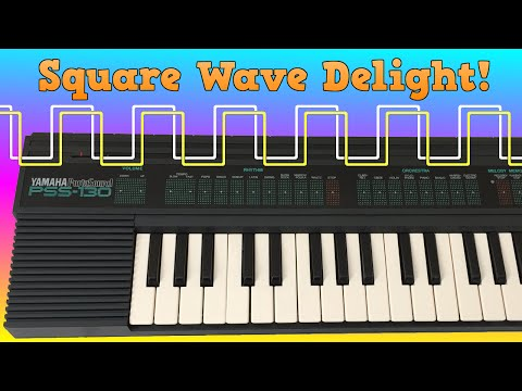 Square Wave Delight - Yamaha PSS-30 and PSS-130