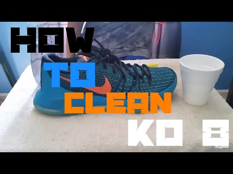 How to Clean KD 8s