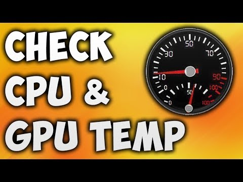 How To Check CPU Temp - The Easiest Way To Monitor GPU Temperature [BEGINNER'S TUTORIAL]
