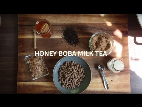 Honey Boba Milk Tea   Farm to Table Family   PBS Parents
