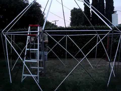 Worlds Fastest Yurt Setup - Part 2