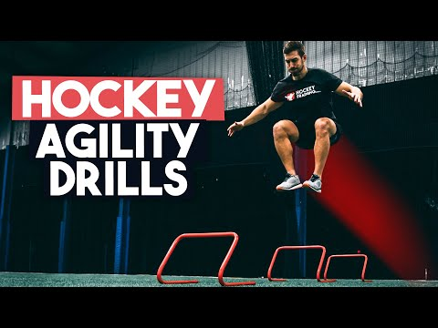 Hockey Agility Training Drills - Hockey Agility Workout 🏒⚡️