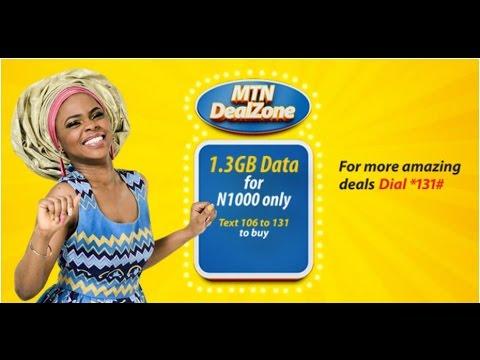 mtn data plan quick list