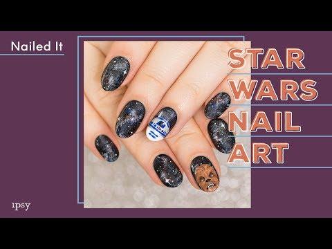 Chewbacca Star Wars Nail Art Tutorial   ipsy Nailed It