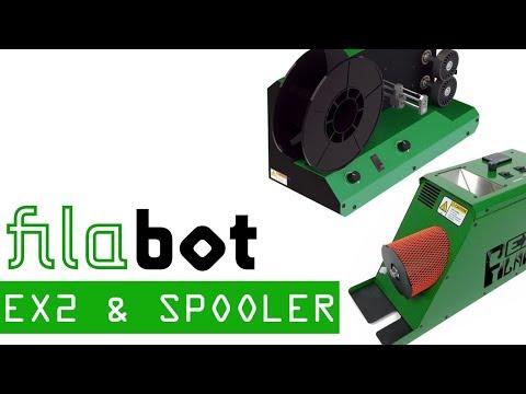 Filabot EX2 and Filabot Spooler - Making Filament for 3D Printing