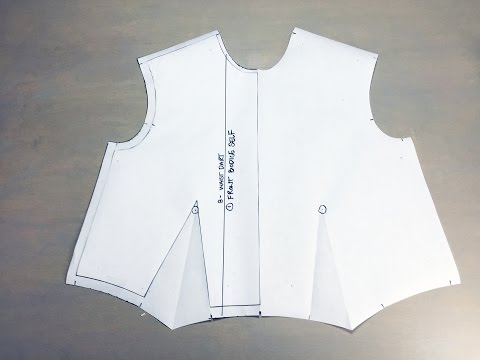 Flat Pattern Lesson 1: Basic Woven Front Bodice